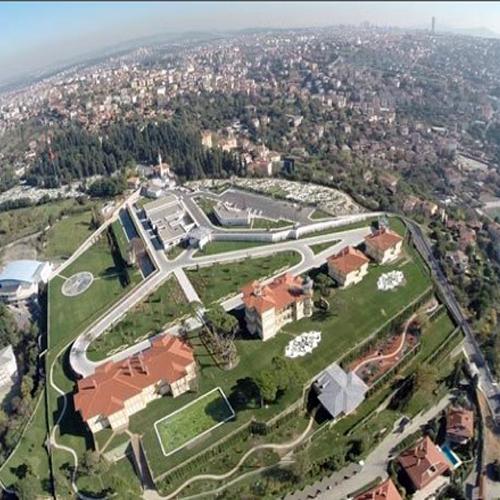 Präsidenten Palast Vahdetin / Istanbul