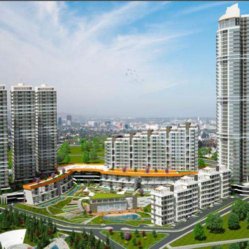 Incek Prestij Gebäude und Lebenszentrum / Ankara