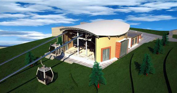 The Area in Kartepe Delivered for Cable Car Project